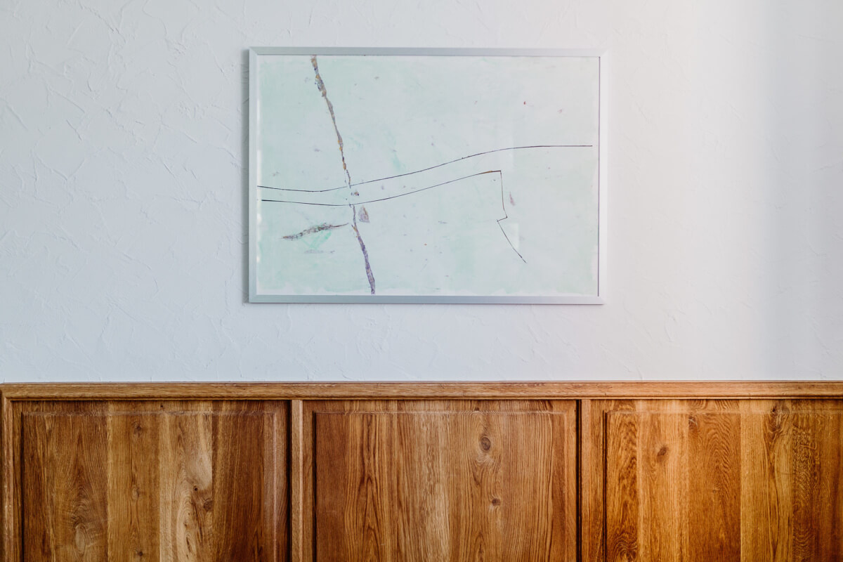 Seminarsaal | Wandvertäfelung & Tür – Antik
